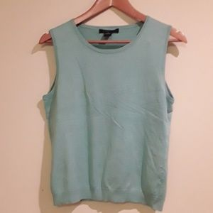 Sea Foam Green Silky Top